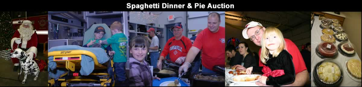 Kansasville Fire and Rescue Spaghetti Dinner
